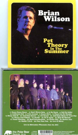 Pet Theory In The Summer ( Polar Bear )( Live in Milwaukee, WI, USA, June 29th, 2001 )