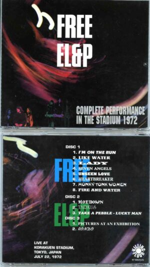 Complete Performance In The Stadium 1972 ( 3 CD SET ) ( With FREE at Korakuen , Tokyo , Japan , July 22nd ´72 )