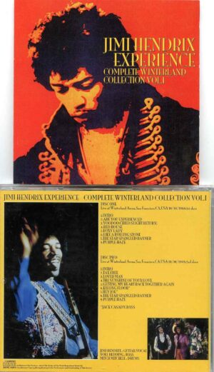 Complete Winterland Collection Vol. 1 ( 2 CD Set) ( Winterland Arena , San Francisco , Oct 10th 1968 1st & 2nd Show )