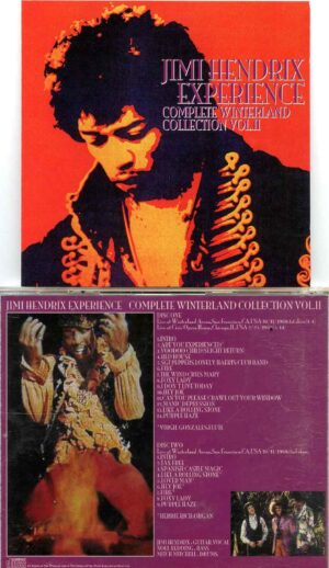 Complete Winterland Collection Vol. 2 ( 2 CD Set) ( Winterland Arena , San Francisco , Oct 11th 1968 2nd Show plus Chicago )