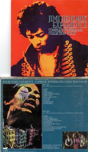 Complete Winterland Collection Vol. 3 ( 2 CD Set) ( Winterland Arena , San Francisco , Oct 12th 1968 1st & 2nd Show )
