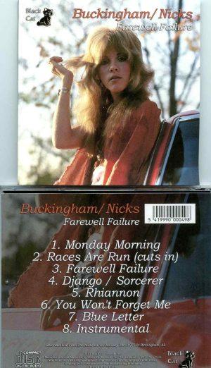 Farewell Failure ( Buckingham - Nicks Live in Birmingham, AL, January 28th, 1975 )