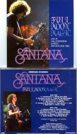 Full Moon Magic ( 2 CD SET ) ( Hallenstation, Zurich, Switzerland, May 8th, 1983 )