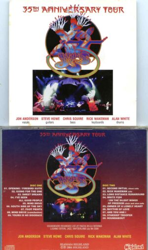 Going For The Mind Drive ( Highland ) ( 2 CD SET ) (Piazza Della Riforma, Lugano, Switzerland, July 8th, 2004 )