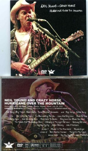 Hurricane Over The Mountain ( 2 cd set )( Live at Fuji Rock Fest , Naeba Niigata, Japan, July 28th, 2001 )