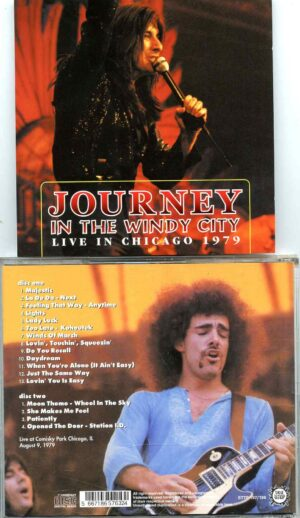 In The Windy City ( 2 CD SET )( Shout To The Top )( Cominsky Park, Chicago, IL, USA, August 9th, 1979 )