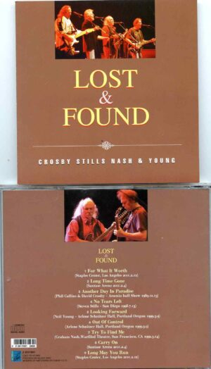Lost And Found ( ZEUS ) ( CSN&Y Unreleased Live Tracks , Various Venues )