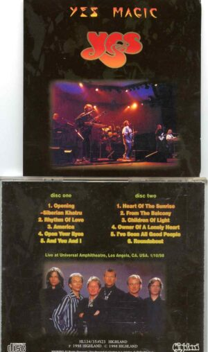 Magic ( Highland ) ( 2 CD SET )( Jan 10th, 1998 Broadcast of the Dec 7th, 1997 Show at Los Angeles, CA, USA )