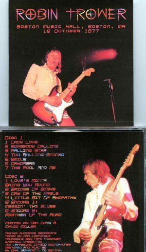 Boston Music Hall ( 2 CD SET ) ( Live at Boston Music Hall, Boston, MA, USA, October 16th, 1977 )