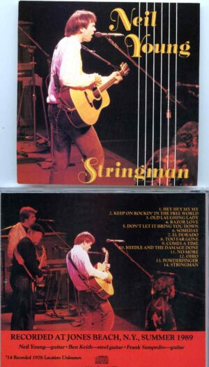 Stringman ( Recorded Live at Jones Beach, New York, USA, Summer 1989 )