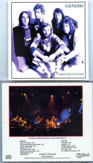 White Mountain Side ( Highland ) ( 2 CD SET ) ( Maple Leaf Gardens , Toronto , Canada , April 1st , 1976 )