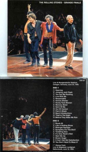 Rolling Stones - Grand Finale ( 2 cd set ) ( VINYL GANG ) ( Mungersdorfer Stadium, Cologne, Germany, June 20th, 1999 )