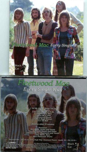 Fleetwood Mac - Every Single Way ( Paramount Theater, Seattle, Washington, USA, March 10th, 1972 )