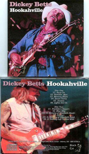 Allman Brothers - Hookahville ( 2 CD SET ) ( Dickey Betts at Buckeye Lake Music Center, Hebron, Ohio, USA, September 2nd, 2000 )