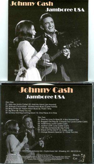 Johnny Cash - Jamboree USA ( 2 CD SET ) ( Capitol Music Hall, West Virginia, October 2nd, 1976 )