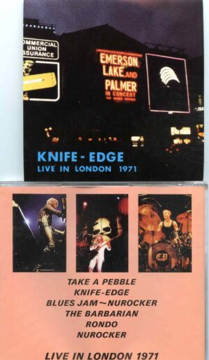 Emerson Lake And Palmer - Knife Edge ( Live in London 1971 )