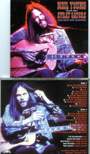 Neil Young - Laid Back And Laughing ( 2 cd set ) ( Cobo Hall, Detroit, MI, USA, January 8th, 1973 )