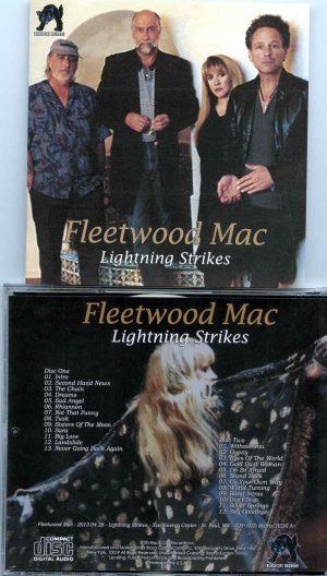 Fleetwood Mac - Lightning Strikes ( 2 CD Set ) ( Xcel Energy Center St Paul, MN, April 28th 2013 )