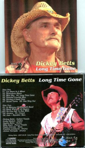 Allman Brothers - Long Time Gone ( 2 CD SET ) ( Dickey Betts at Terryville Fairgrounds, Terryville, New York, USA, August 26th, 2007 )