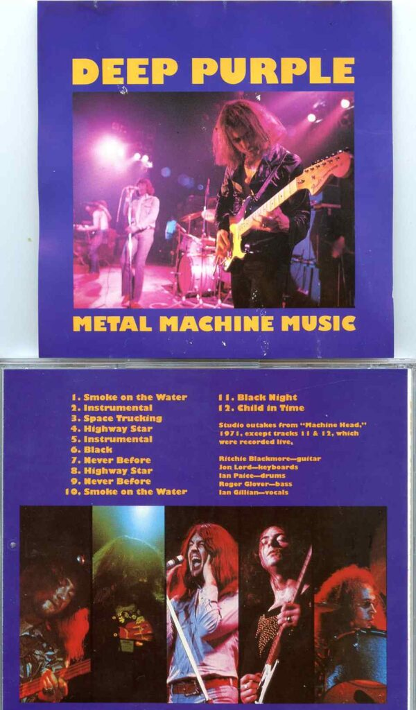 Deep Purple - Metal Machine Music ( Studio Outtakes from the Machine Head Sessions )