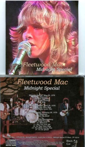 Fleetwood Mac - Midnight Special ( Taken from 4 Midnight Special TV Shows - 1976 )