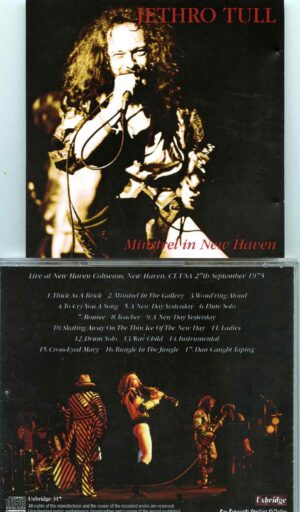Jethro Tull - Minstrel In New Haven ( 2 CD SET ) ( New Haven, Connecticut, USA, September 27th, 1975 )