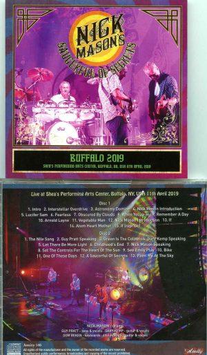Nick Mason - Buffalo 2019 ( 2 CD SET ) ( Shea´s Performing Arts Center, Buffalo, New York, USA, April 11th, 2019 )