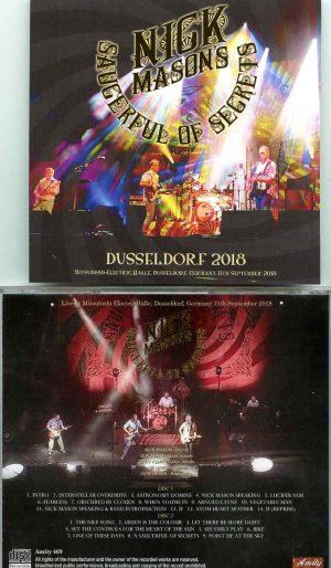 Nick Mason - Duseldorf 2018 ( 2 CD SET ) (  Mitsubishi Electric Halle Dusseldorf, Germany, September 11th, 2018 )