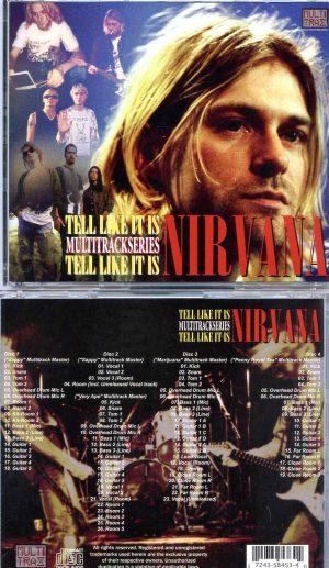 Nirvana - Tell Like It Is ( 4 CD SET ) ( The Multitracks Original Masters )
