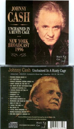 Johnny Cash - Unchained in a Rusty Cage ( Irving Plaza, New York, USA, July 9th, 1996 )