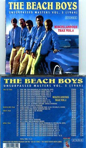 Beach Boys - Unsurpassed Masters vol. 5 ( Miscellaneous Trax Vol. 2 )
