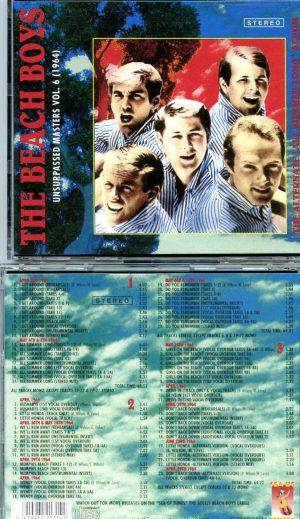 Beach Boys - Unsurpassed Masters vol. 6 ( 3 CD SET ) ( The Alternate All Summer Long Album 1964 )