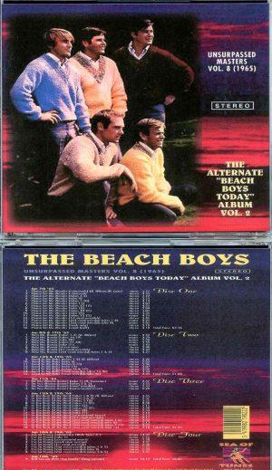 Beach Boys - Unsurpassed Masters vol. 8 ( 4 CD SET ) ( The Alternate Beach Boys Today Album Vol. 2 1965 )
