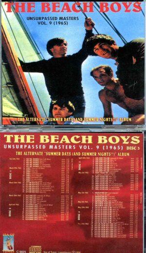Beach Boys - Unsurpassed Masters vol. 9 ( 4 CD SET ) ( The Alternate Summer Days and Summer Nights 1965 )