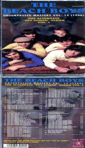 Beach Boys - Unsurpassed Masters vol. 14 / 4 CD SET ) ( The Alternate Pet Sound Album Vol. 2 1966 )