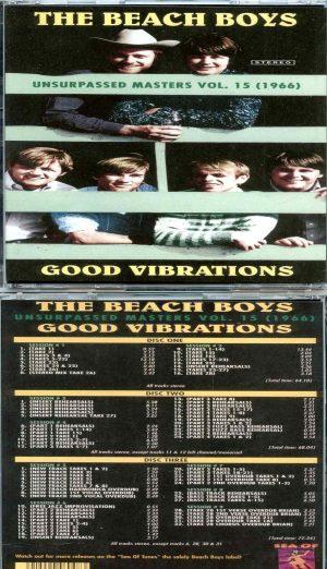 Beach Boys - Unsurpassed Masters vol. 15 ( 3 CD SET) ( Good Vibrations 1966 )