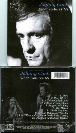 Johnny Cash - What Tortures Me ( Capitol Music Hall, Wheeling, West Virginia, USA, May 24th, 1981 )