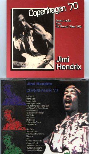 Jimi Hendrix - Copenhagen 1970 ( 2 CD SET ) ( Sept 3rd, 1970, Copenhagen, Denmarkplus Bonus Studio Tracks )